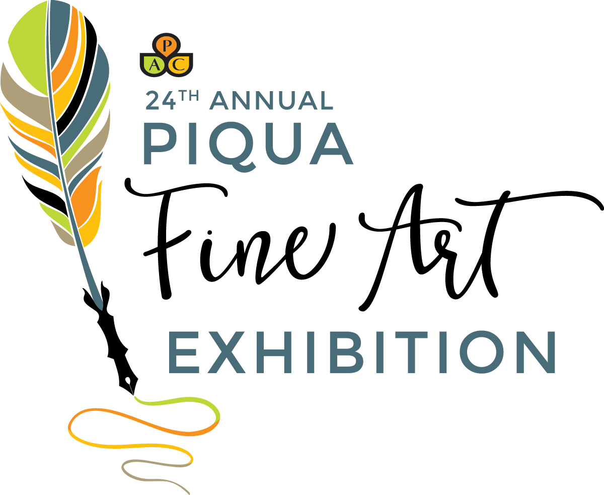 Piqua Fine Art Exhibition logo